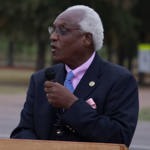 Dr. Leslie McLemore, Chairman of Mississippi Freedom Trail Task Force